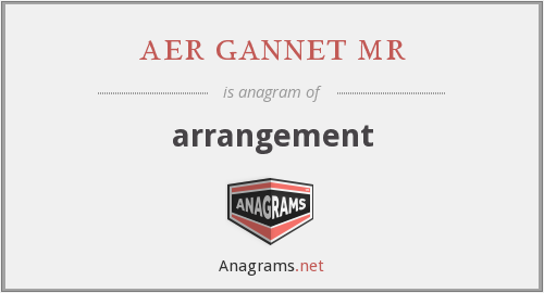 aer gannet mr - arrangement
