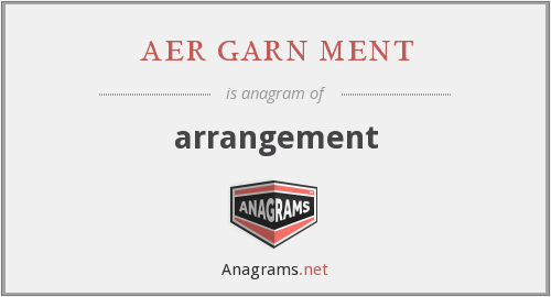 aer garn ment - arrangement