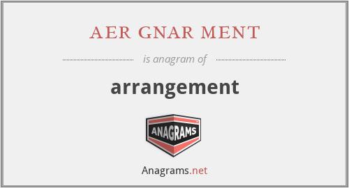aer gnar ment - arrangement