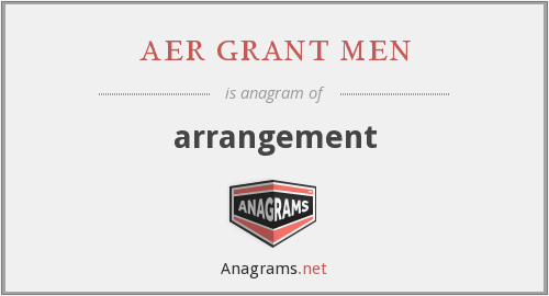 aer grant men - arrangement