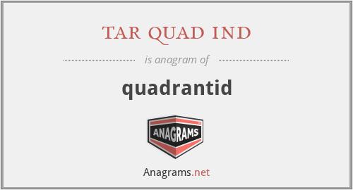 tar quad ind - quadrantid