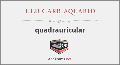ulu carr aquarid - quadrauricular