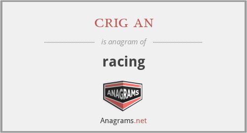 crig an - racing