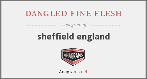 dangled fine flesh - sheffield england