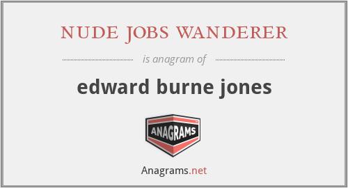 nude jobs wanderer - edward burne jones