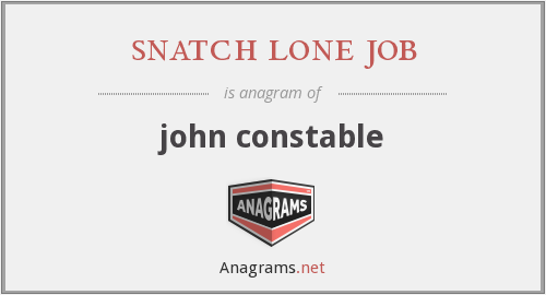 snatch lone job - john constable