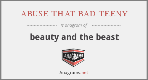 abuse that bad teeny - beauty and the beast
