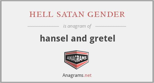 hell satan gender - hansel and gretel