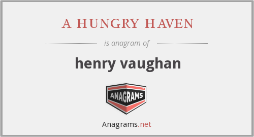 a hungry haven - henry vaughan
