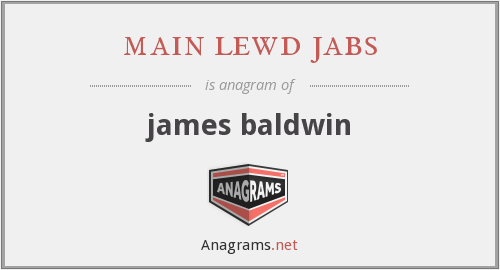 main lewd jabs - james baldwin