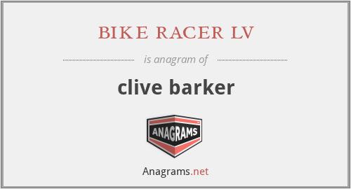 bike racer lv - clive barker