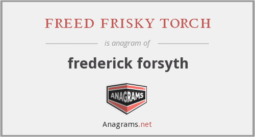freed frisky torch - frederick forsyth