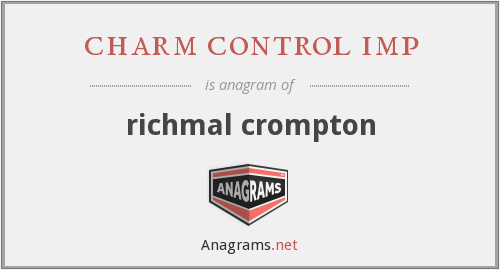 charm control imp - richmal crompton