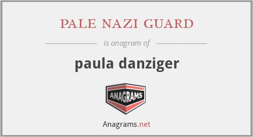 pale nazi guard - paula danziger
