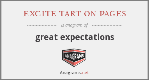 excite tart on pages - great expectations