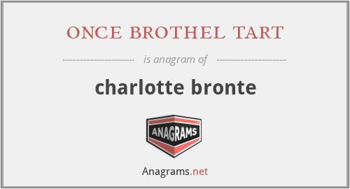 once brothel tart - charlotte bronte