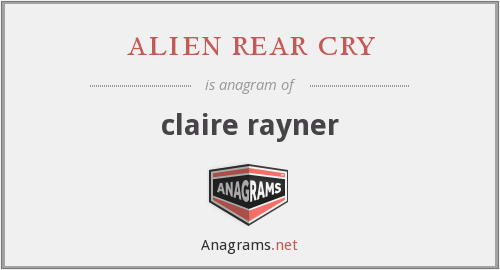 alien rear cry - claire rayner