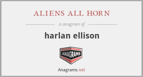 aliens all horn - harlan ellison