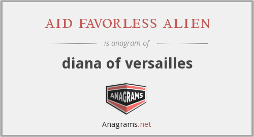 aid favorless alien - diana of versailles