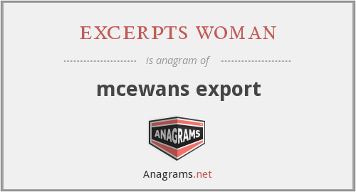 excerpts woman - mcewans export