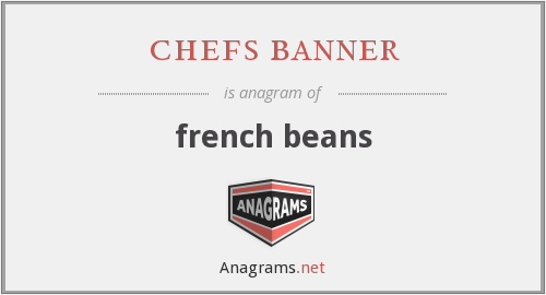 chefs banner - french beans