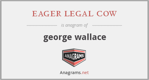eager legal cow - george wallace