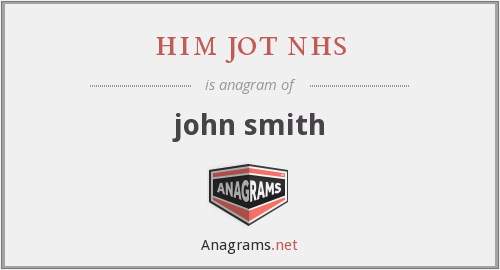 him jot nhs - john smith
