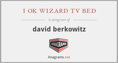 i ok wizard tv bed - david berkowitz