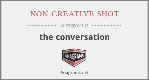 non creative shot - the conversation