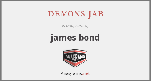 demons jab - james bond