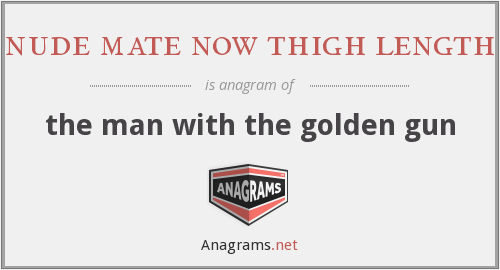 nude mate now thigh length - the man with the golden gun