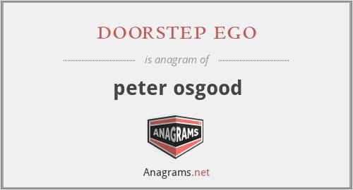 doorstep ego - peter osgood