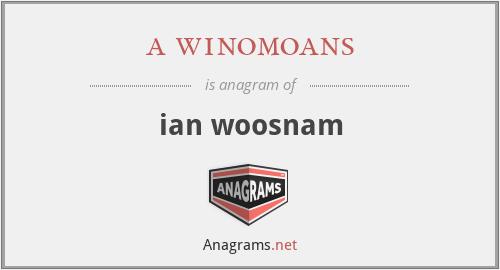 a winomoans - ian woosnam