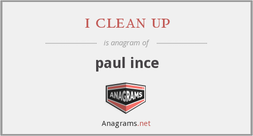 i clean up - paul ince