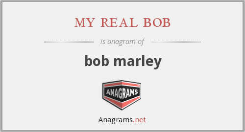 my real bob - bob marley