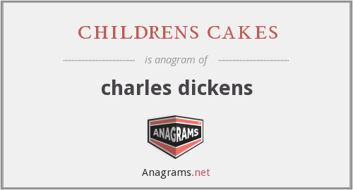 childrens cakes - charles dickens