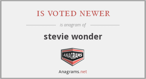is voted newer - stevie wonder