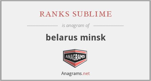ranks sublime - belarus minsk