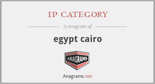 ip category - egypt cairo