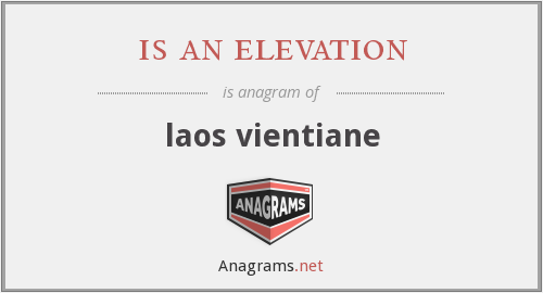 is an elevation - laos vientiane