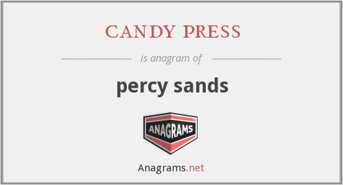 candy press - percy sands