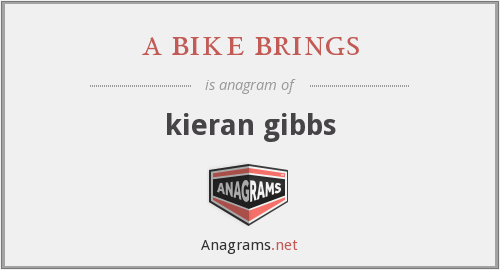 a bike brings - kieran gibbs