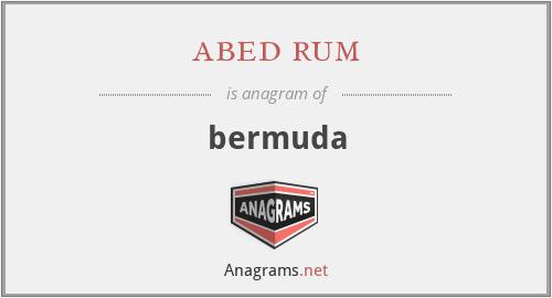 abed rum - bermuda