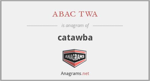 abac twa - catawba