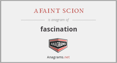 afaint scion - fascination