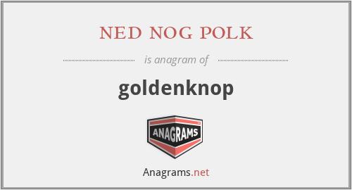 ned nog polk - goldenknop