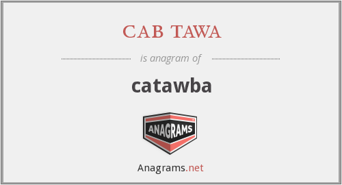 cab tawa - catawba