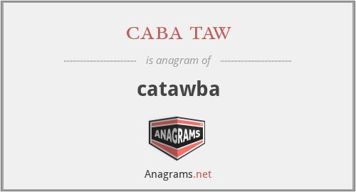 caba taw - catawba