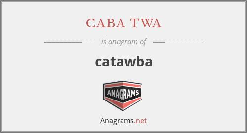 caba twa - catawba