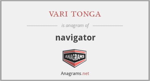 vari tonga - navigator